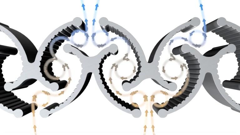 Das X-CYCLONE® Luftreiniger Abscheider Prinzip