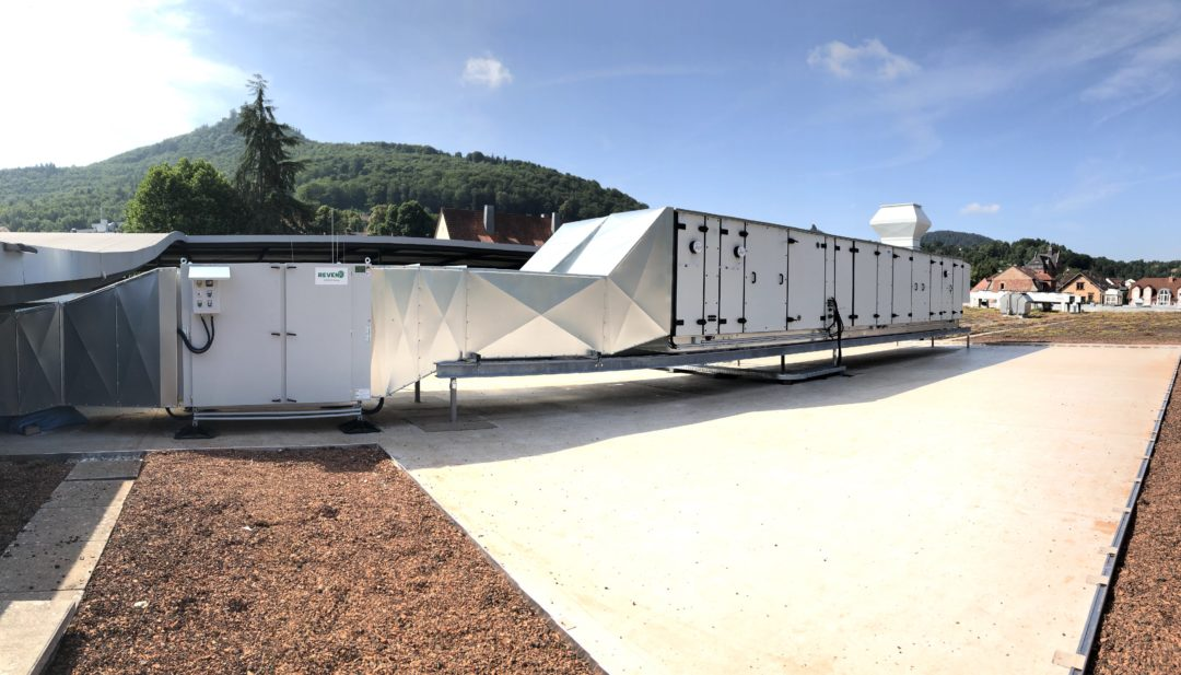 Abluftanlage mit integriertem Luftreiniger und Geruchsabscheider