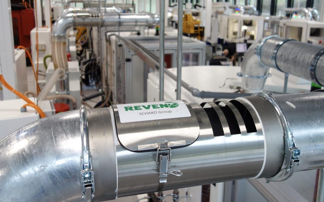 REVEN® Pipe zum Kondensieren der Dampfphase