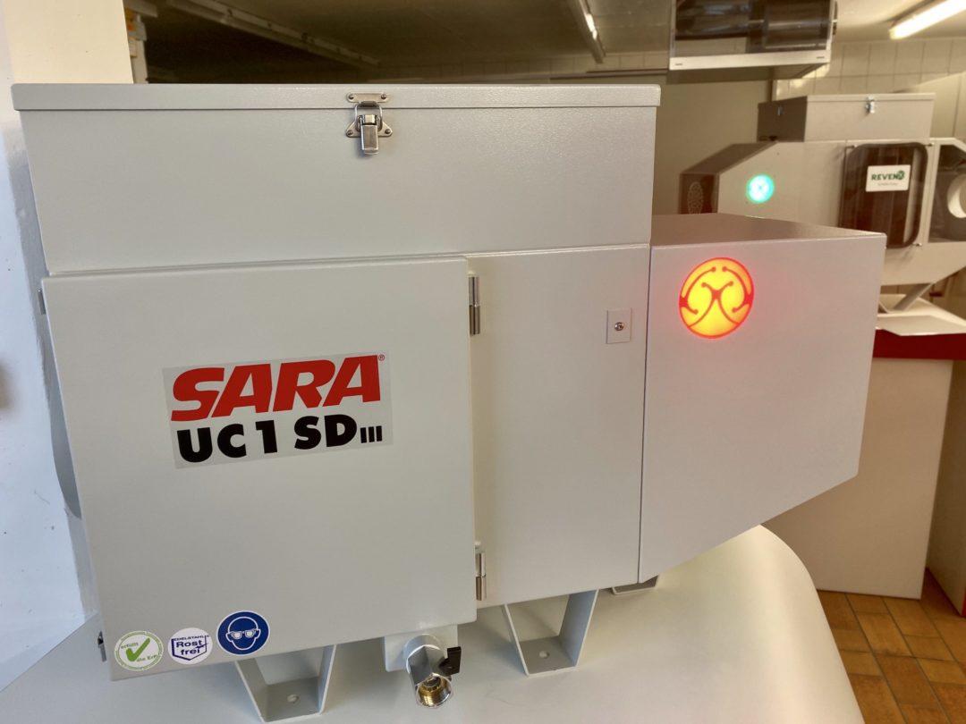 Intelligente Luftreiniger mit Zustandsanzeige und digitaler Schnittstelle