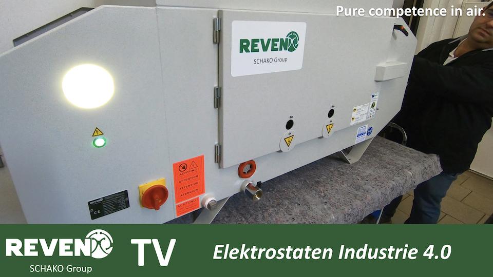 Elektrostatischer Ölnebelabscheider nach Industrie 4.0