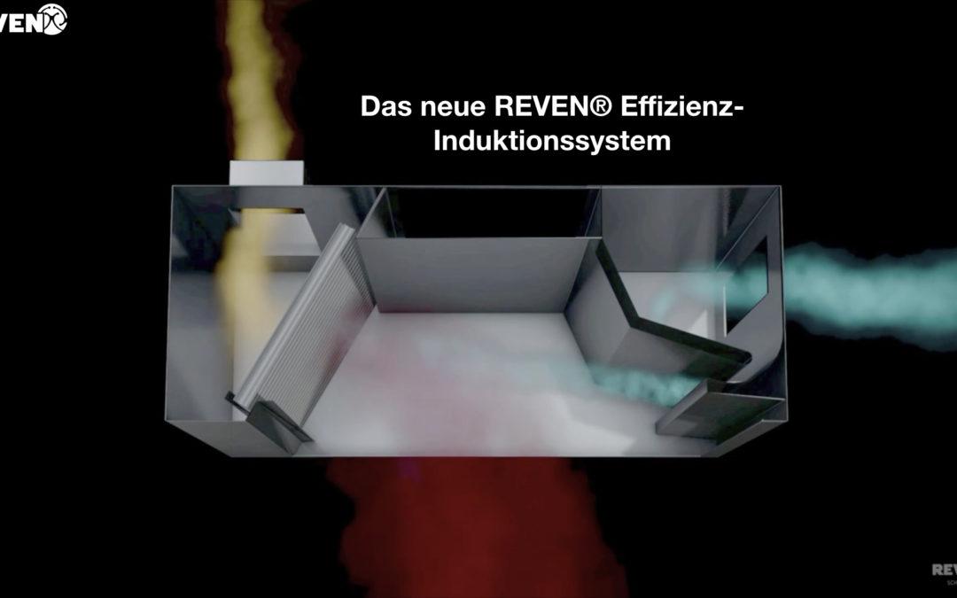 YouTube Tutorial zu den neuen REVEN® Lüftungshauben mit optimierter Erfassung