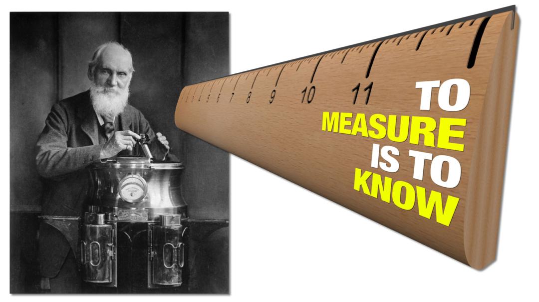 wenn Du etwas nicht messen kannst dann kannst Du es auch nicht verbessern