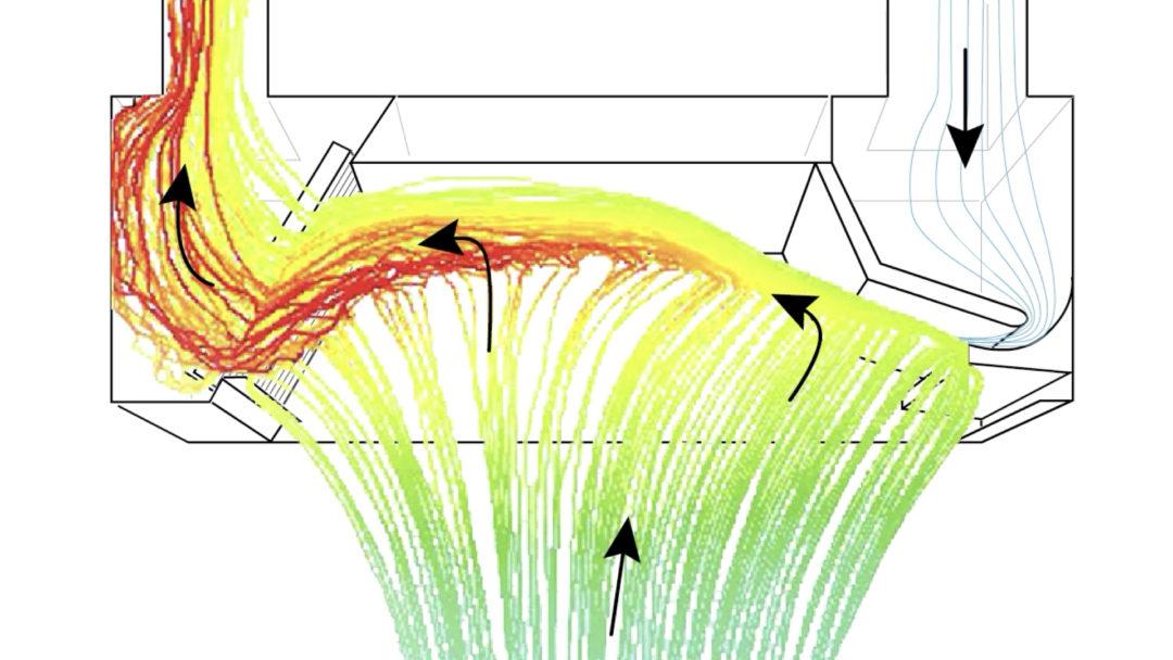 CFD Analyse einer Küchenhaube