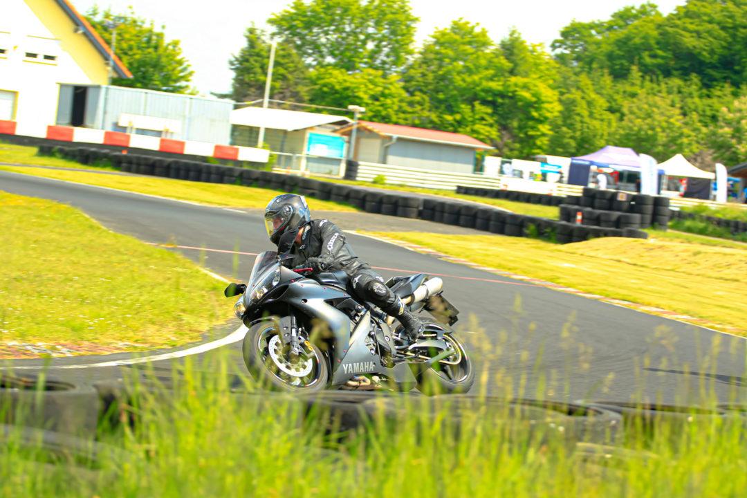 Patrick Roller beim Motorradtraining am Vogelsberg Ring