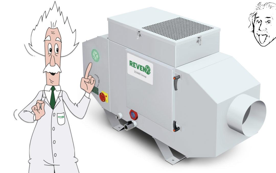 Die neuen intelligenten industriellen Lüftungsanlagen sind online!