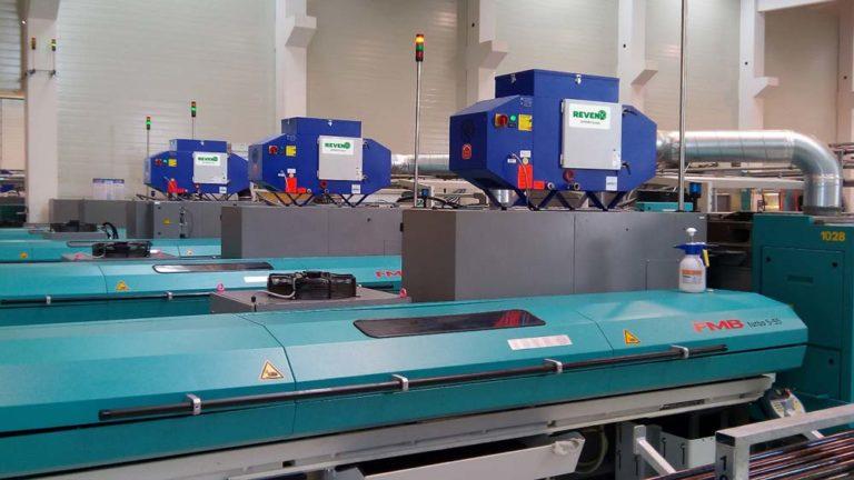 Emulsion mist separator for turning machines