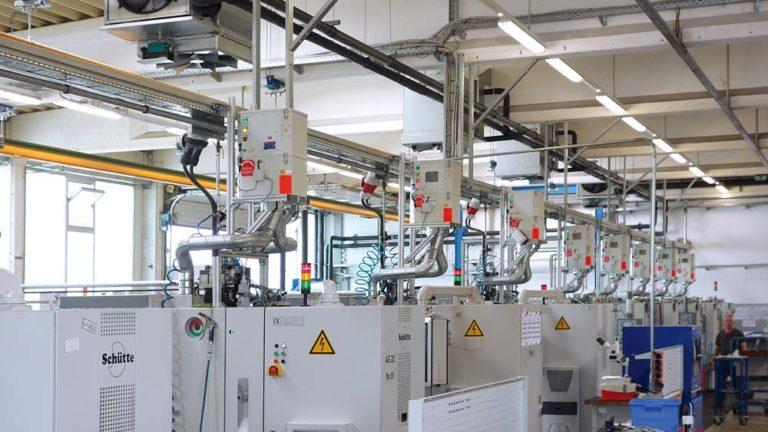 Ölnebelabscheider für Maschinenpark