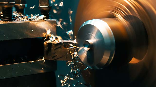 Extraction of a lathe