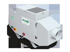 C-XSC Emulsion Mist Separator with automatic adjustment