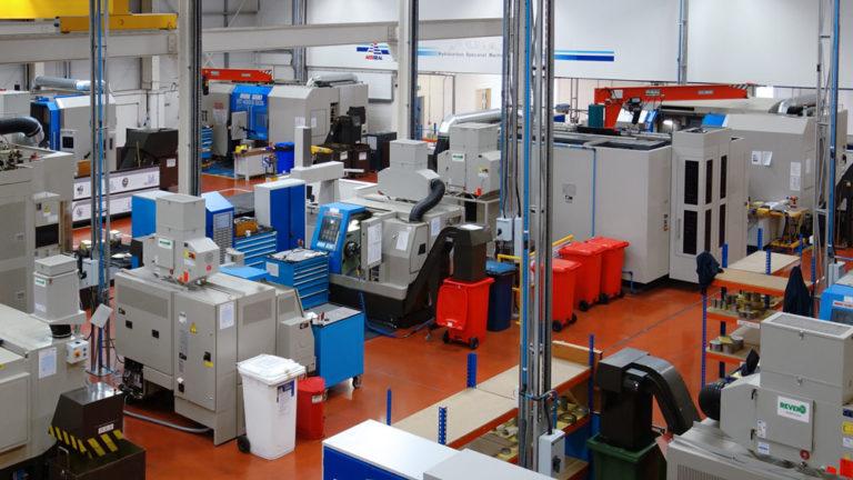 Different emulsion mist separators in a machine park