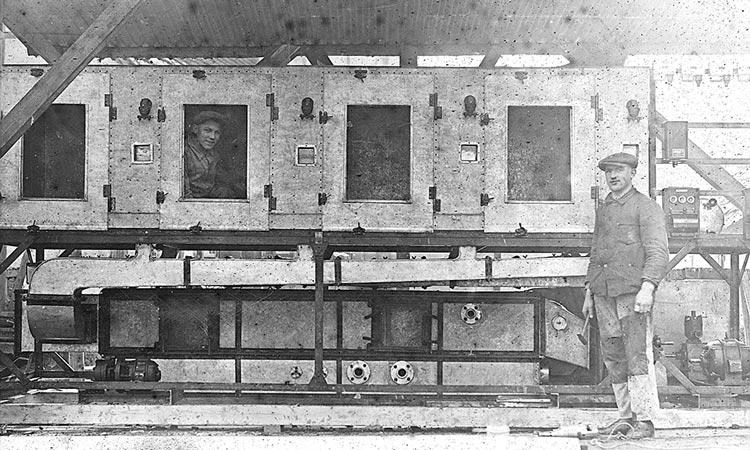 Erste Lüftungsanlagen aus der Gründerzeit
