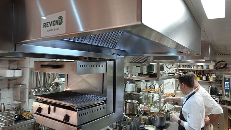 REVEN® Exhaust Hoods made to measure