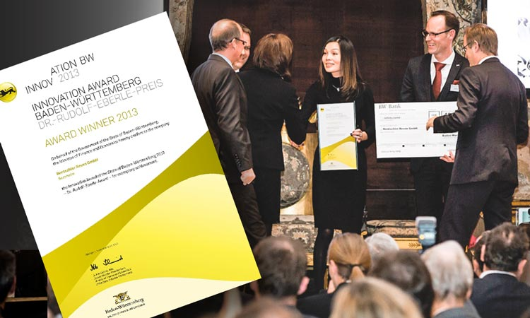 REVEN is awarded the Innovation Prize of the state of Baden-Württemberg