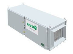 Exhaust Duct Air Cleaner RKUV for odour reduction with UV rays