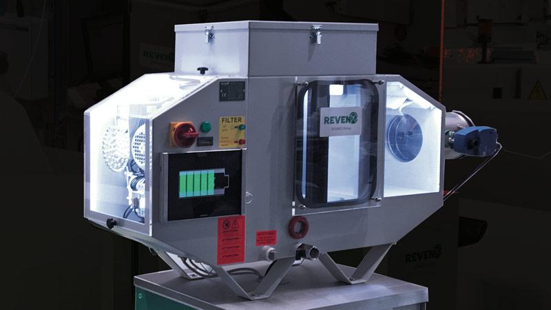 REVEN® ventilation technology in the emulsion mist separator
