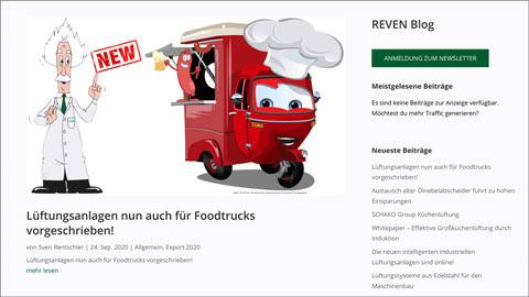 Mit dem REVEN Blog auf dem Laufenden sein