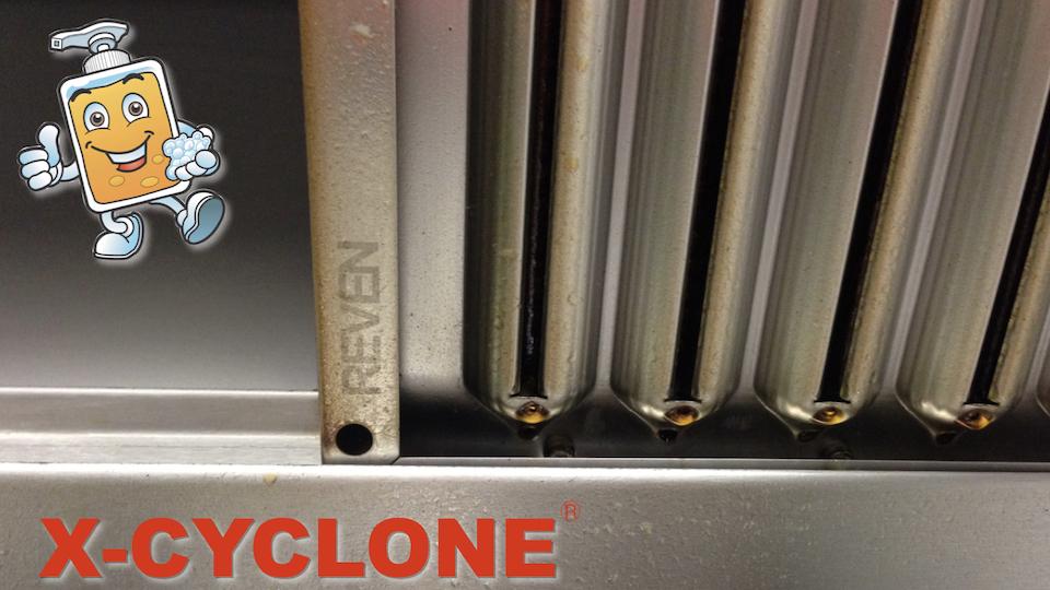 Wie funktionieren X-CYCLONE Aerosolabscheider?