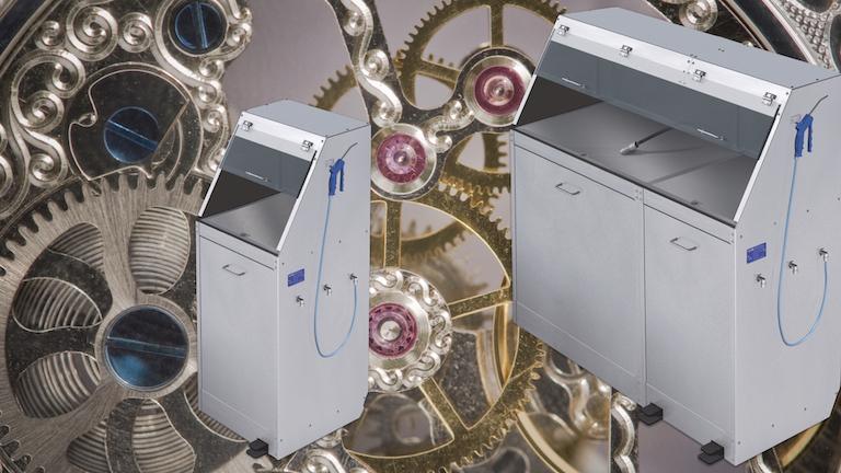 Stromlose Luftreinigertische die mit Druckluft arbeiten