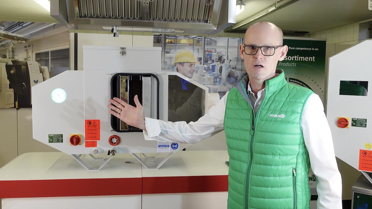 Vorstellung der neuen REVEN XSC Ölnebelabscheider für den Maschinenbau