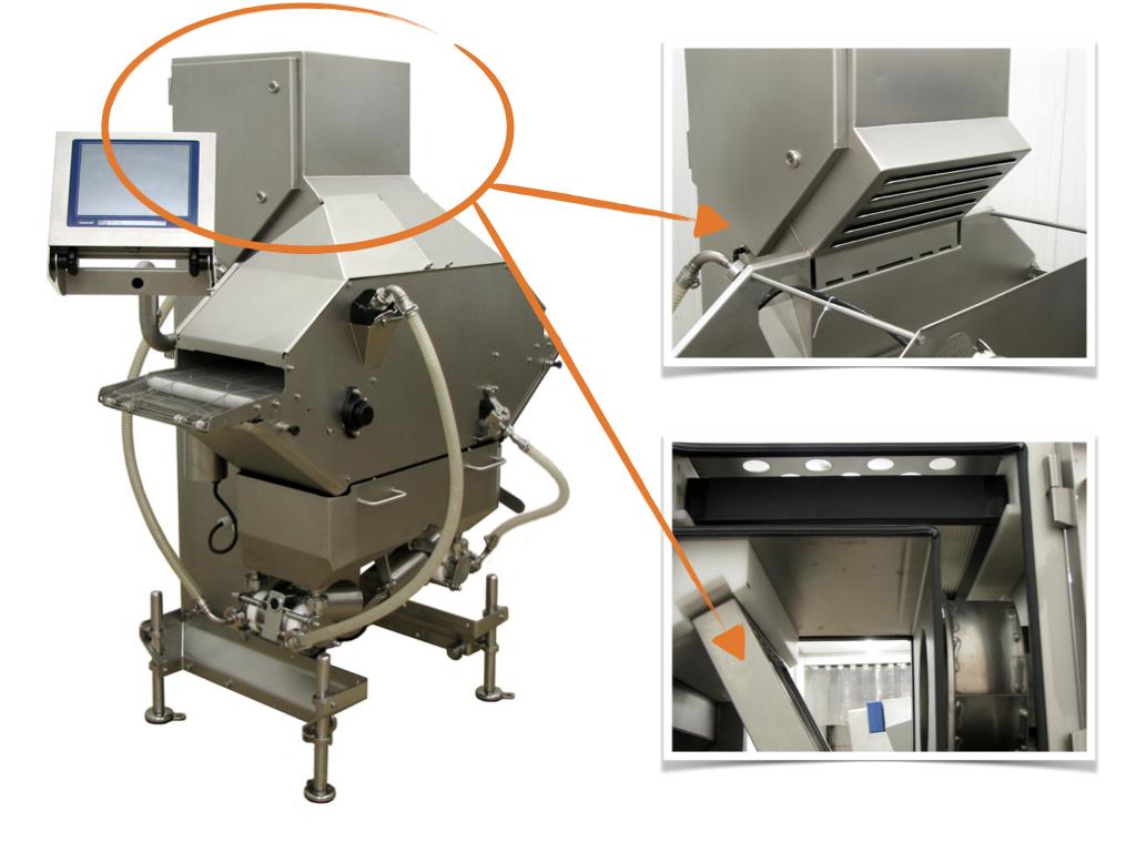 Automatisiertes Marinieren von Produkten mit integrierter REVEN Lüftungstechnologien
