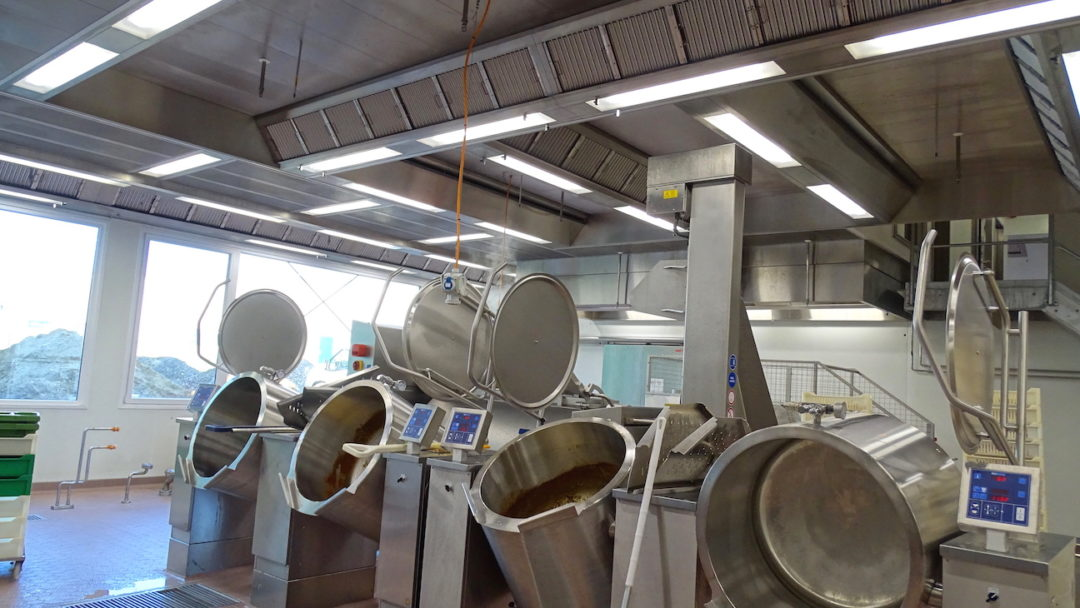 Innovative Lüftungstechnik in der Lebensmittelindustrie aus Edelstahl rostfrei