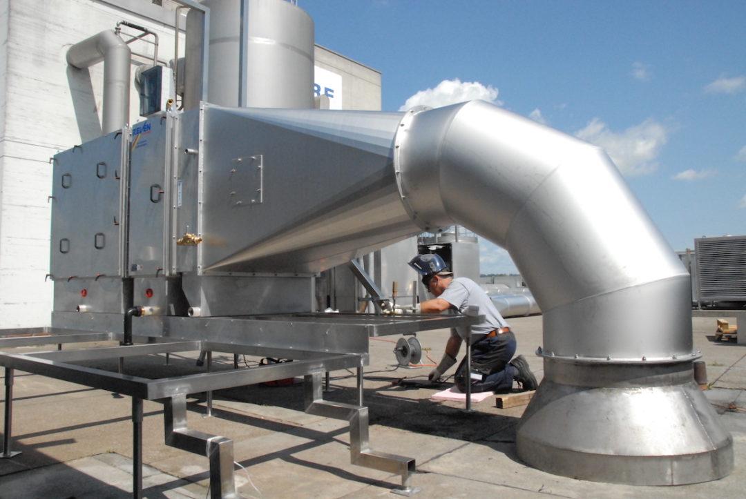Spezielle Anforderungen an das Lüftungssystem bei der Milchpulverproduktion