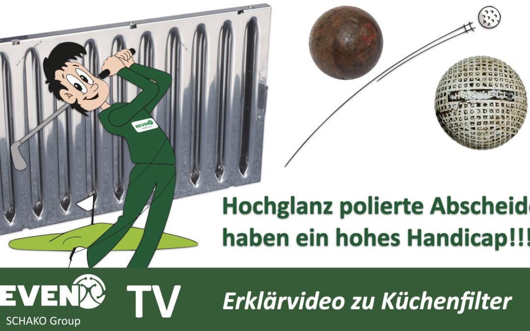 Auf Hochglanz polierte Küchenfilter funktionieren nicht!