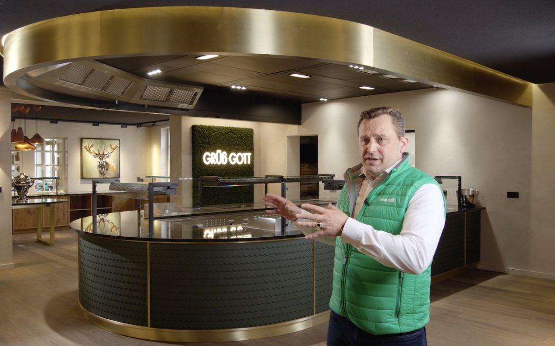 Moderne und effiziente Küchenlüftung in einem 5 Sterne Hotel